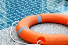 Life buoy. For emergency case Stock Photos