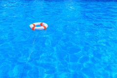 Life buoy floating Stock Photography