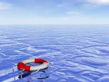 Life buoy hope - 3D render Stock Photo
