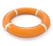 Life buoy isolated on white Stock Images