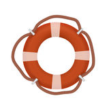 Life buoy isolated on white. vector illustration. Life buoy isolated on white. vector eps10 illustration royalty free illustration