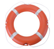 Life buoy / Life preserver. Hand made clipping path included Royalty Free Stock Photo