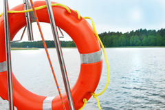 Life Buoy lifesaver Stock Photography