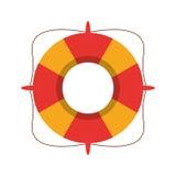 life buoy marine symbol Royalty Free Stock Photo