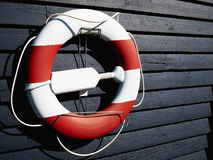 Life buoy preserver ring belt Stock Photo