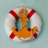 Life buoy preserver Royalty Free Stock Photography