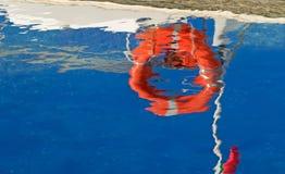 Life buoy reflection Stock Photos