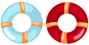 Life buoy ring Stock Image