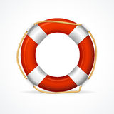 Life Buoy Ring Red. Vector. Life Buoy Ring Red. The symbol of the life-saving. Vector illustration Stock Photography