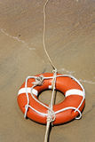 Life buoy with rope Stock Image