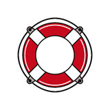 Life buoy. Royalty Free Stock Photo