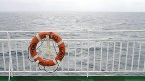 Life buoy stock video