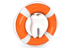 Life Buoy and tooth Royalty Free Stock Photo