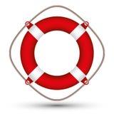 Life buoy. Life buoy vector illustration isolated on white Stock Images