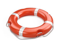 Life buoy  on white background Royalty Free Stock Image