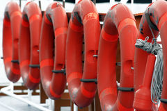 Life buoys Stock Image