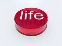 Life button Stock Images