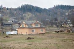 Life in the Carpathian mountains. Stock Photo