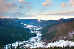 Life in Carpathians Mountains Royalty Free Stock Image