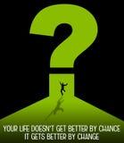 Life change Stock Image