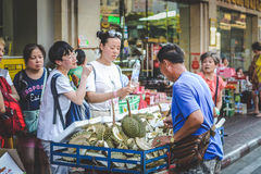 Life of Chinatown. Royalty Free Stock Photos
