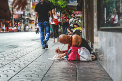 Life of Chinatown. Royalty Free Stock Photography