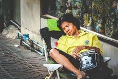 Life of Chinatown. Stock Photo