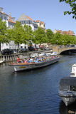 LIFE AT CHISTIANSHAVN CANAL Royalty Free Stock Photography