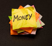 Life choices - money stock images