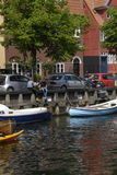 LIFE AT CHRISTIANSHAVN CANAL Royalty Free Stock Photography