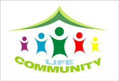 Life Community symbol Royalty Free Stock Photos