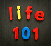 Life 101 concept Stock Images