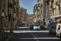 Daily life in Cote d`azur royalty free stock photo