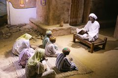 The life of desert Bedouins - Egypt. The life of desert Bedouins in Museum of Nubia Egypt Egypt, Aswan, Ancient Antiques at Museum of Nubia Egypt 20 September Royalty Free Stock Photo