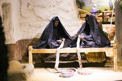 The life of desert Bedouins - Egypt. The life of desert Bedouins in Museum of Nubia Egypt Egypt, Aswan, Ancient Antiques at Museum of Nubia Egypt 20 September Stock Photos