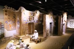 The life of desert Bedouins - Egypt. The life of desert Bedouins in Museum of Nubia Egypt Egypt, Aswan, Ancient Antiques at Museum of Nubia Egypt 20 September Stock Images
