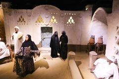The life of desert Bedouins - Egypt. The life of desert Bedouins in Museum of Nubia Egypt Egypt, Aswan, Ancient Antiques at Museum of Nubia Egypt 20 September Stock Photo