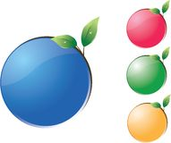 Life design balls Stock Images