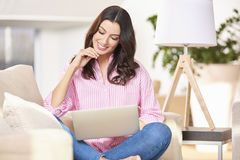 Life is easier with a wireless internet connection Royalty Free Stock Photos