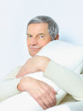 life of an elderly person. Royalty Free Stock Photo