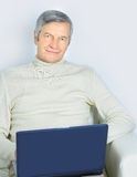 life of an elderly person. Stock Photo