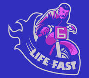Life Fast Stock Photos