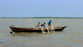 Life of fisherman. Bangladesh being a first line littoral state of the Indian Ocean has a very good source of marine resources in the Bay of Bengal. The country Stock Image
