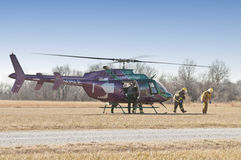 Life flight Royalty Free Stock Images