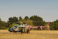 Life flight Stock Photo