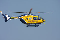 Life Flight Helicopter Stock Image
