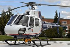Life Flight helicopter Royalty Free Stock Photography