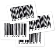 Life Goal Object Bar Code Royalty Free Stock Image