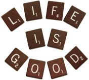 Life, is good, royalty free stock photos