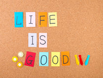 Life is good Royalty Free Stock Image